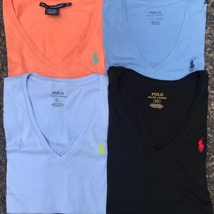 LOT of Polo Ralph Lauren Short Sleeve Tops